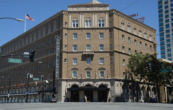 Starwood Hotels & Resorts Worldwide Inc. said Monday it plans to introduce its Westin brand to downtown San Jose with a Westin San Jose, slated to open in July 2013 at the former site of the Sainte Claire Hotel.