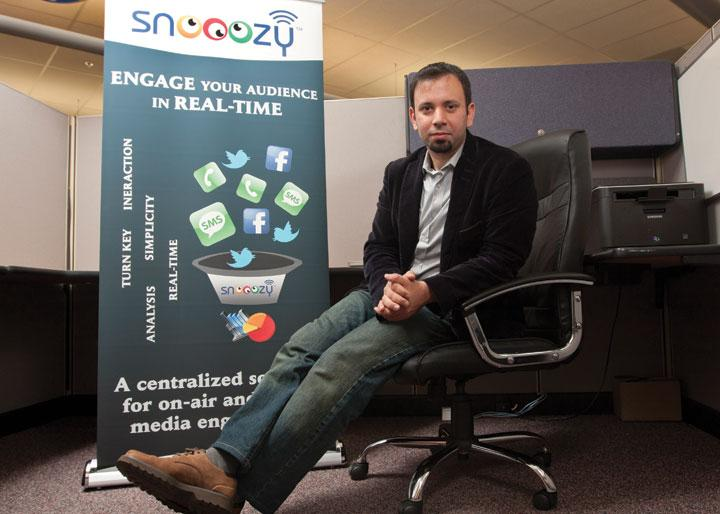 Belal Hummadi is CEO of Snooozy, a startup that makes TV and radio more interactive.