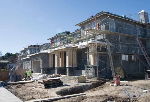 Enclave at Waverly Park features 53 homes with solar panels, among other energy efficient features.