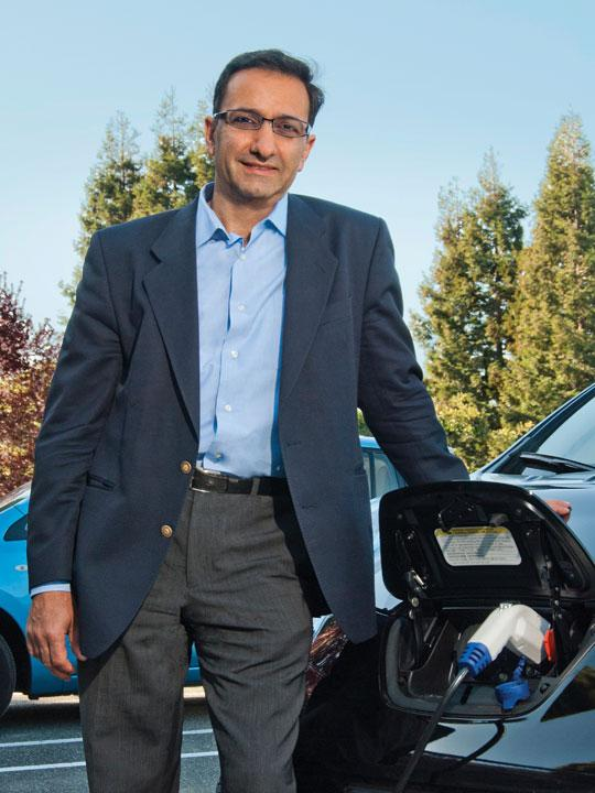 Ahmad Bahai, director of TI's new lab, wants to partner with outside companies and schools on projects like improving car batteries.