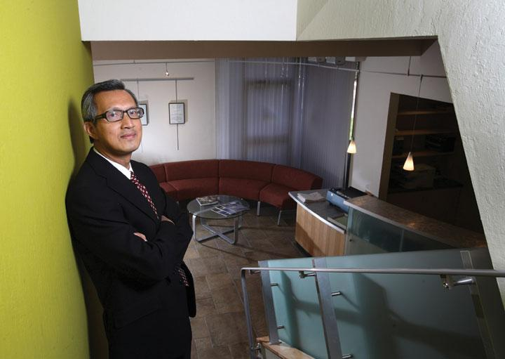 Thang Do, senior principal of AEDIS Architecture and Planning, plans to include a mixed-use marketplace on the ground floor of his company's new downtown San Jose headquarters.