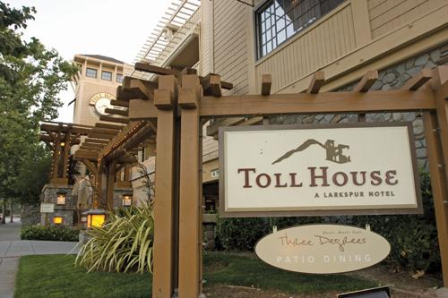 The Toll House Hotel in Los Gatos was put up for sale by Larkspur and Farallon Capital Management.