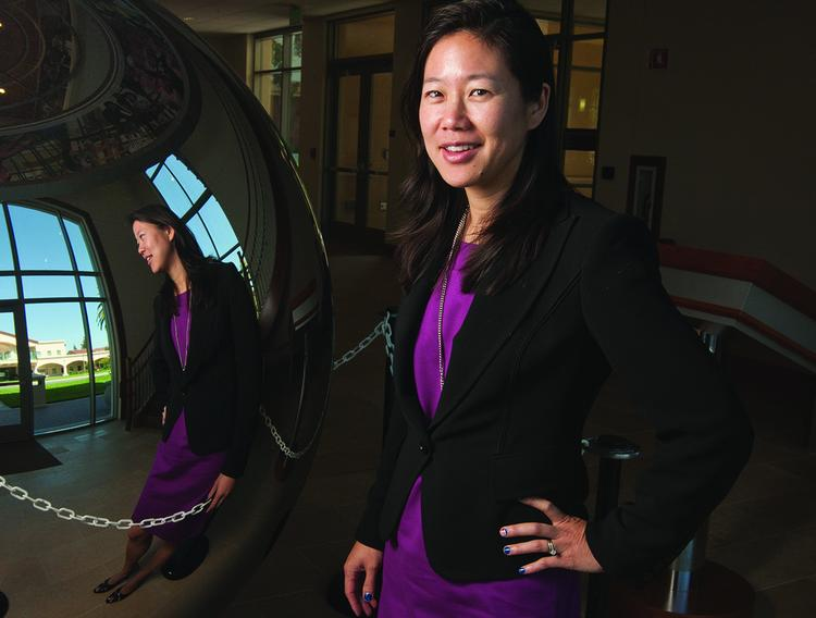 For the first time most U.S. patent lawsuits are being brought by companies that don't make anything, Santa Clara University law professor Colleen Chien said in a new study released on Monday.