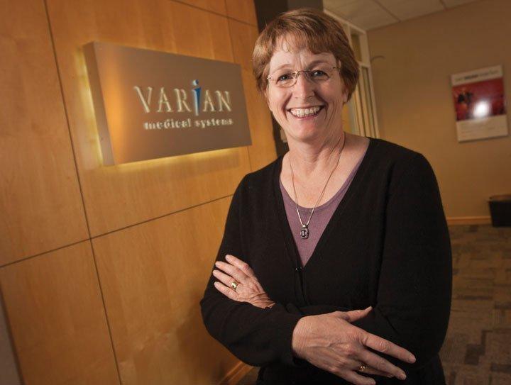 Innovation/Transformation Winner Jessica Denecour, Varian Medical Systems Inc.