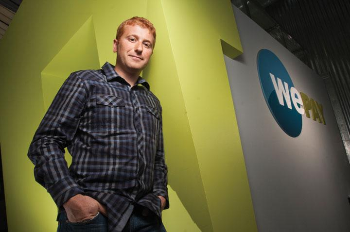 WePay CEO Bill Clerico said his company, which helps businesses set up credit processing online, is a faster, easier process than through traditional banks.