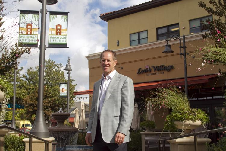 Alex Byer's Willow Glen Town Square is officially opening on Nov. 3. The square adds 15,000 square feet of retail space and 22,450 square feet of office space to Willow Glen.