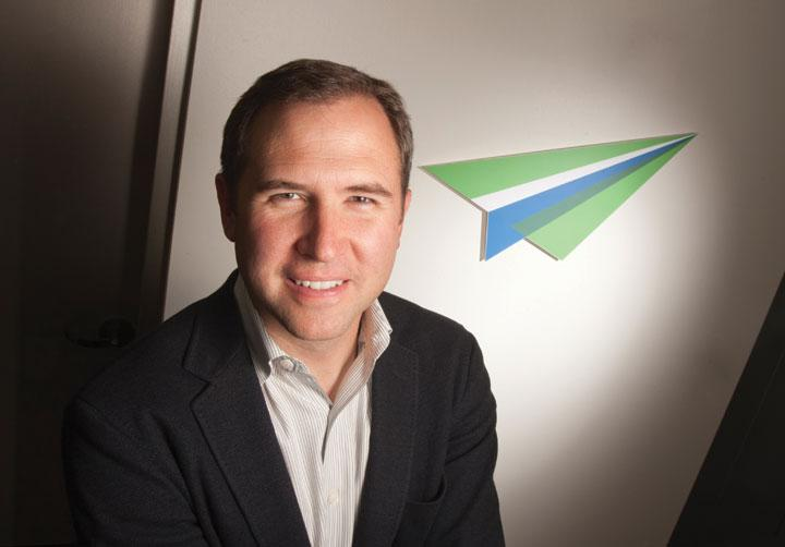 YouSendIt CEO Brad Garlinghouse will be offering startup advice at a lunchtime talk in Campbell on Friday.