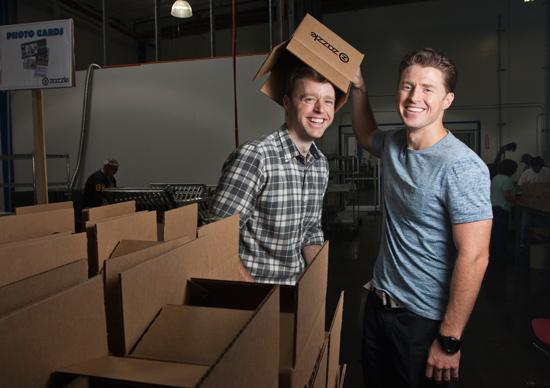 Out of the box: After graduating from Stanford University, siblings Jeff and Bobby Beaver launched Zazzle Inc., an on-demand printing company that attracted attention — and venture capital — from Google Inc. investors John Doerr and Ram Shriram. Today, the company has more than 95 million unique product designs on its website and makes everything from customer-designed T-shirts and skateboard decks to personalized coffee mugs.