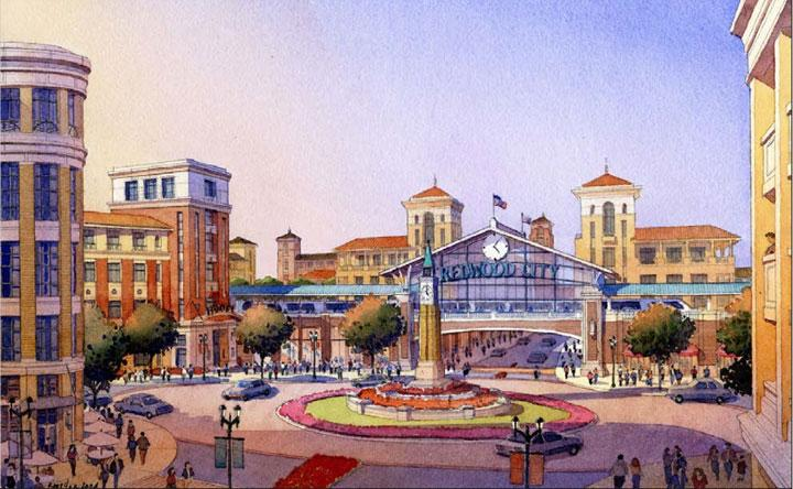 Redwood City recently launched a plan to attract new developments that will revitalize downtown. The city is currently reviewing proposals submitted by different developers for its Depot Circle, or Block 2 property.