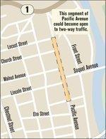 Santa Cruz ponders downtown traffic switch