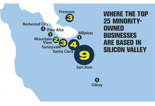 locator map to minority owned businesses