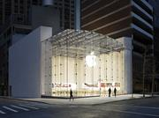 This Apple store in New York City is an example of the design the computer giant is moving toward.