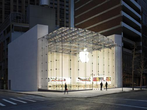 Apple owned or leased 17.3 million square feet of building space as of the third quarter, and 10.9 million square of it was leased. That's up dramatically from a year ago.