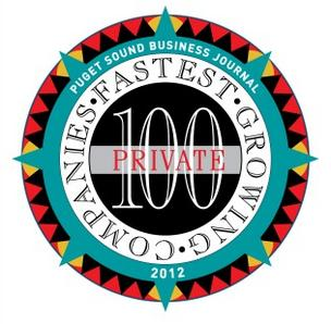 The Puget Sound Business Journal ranks the fastest-growing private companies in Washington state by percentage of revenue growth from 2009 to 2011. See the next slides for the top 20.The  full list of  the top 100 fastest-growing private companies, compiled by Researcher Bonnie Graves, is  available in  the Oct. 12 print edition.