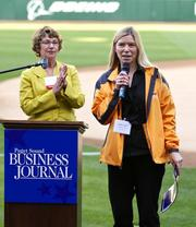 Scenes from the Puget Sound Business Journal's 2011 Washington's Best Workplaces event at Safeco Field in Seattle on Aug. 11.