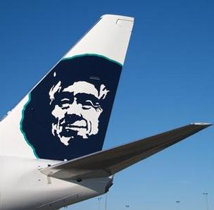 Alaska Airlines traffic was up in 2012.