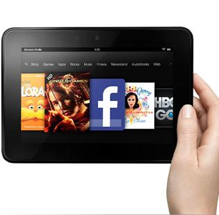 The Kindle Fire tablets are a product of Amazon.