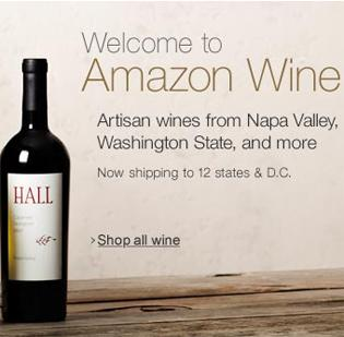Amazon.com is now selling wine through its website.