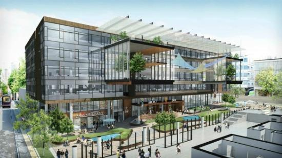 Amazon.com's planned new campus in Seattle's Denny Triangle is one of several Seattle office projects in the pipeline.