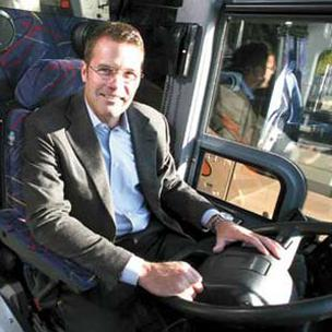 Darren Berg ran a successful bus transportation company as well as his Meridian Group investment fund.