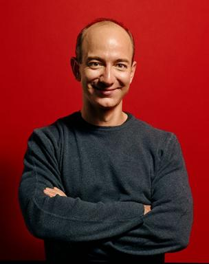 Photo of Amazon.com founder & CEO Jeff Bezos.