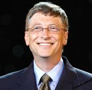 Bill Gates, co-founder of Microsoft Corp., ranks No. 1 on Forbes' latest list of the richest Americans based on a net worth of $72 billion.