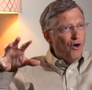Bill Gates, Microsoft Corp. chairman, is excited about Windows 8 and the new Surface tablet.