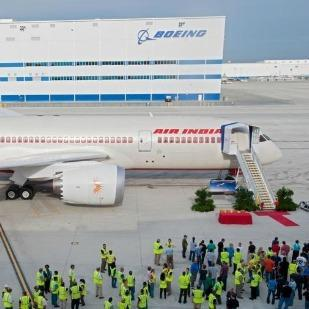 Boeing has stepped up production rates at its facilities in North Charleston, S.C., (shown here) and in Everett, Wash.