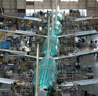 Boeing is increasing the number of 777 jets manufactured in Everett.