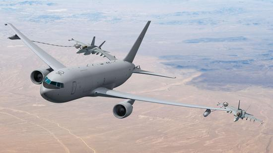Boeing has raised the contract amount for the new U.S. Air Force tanker modernization effort it won.