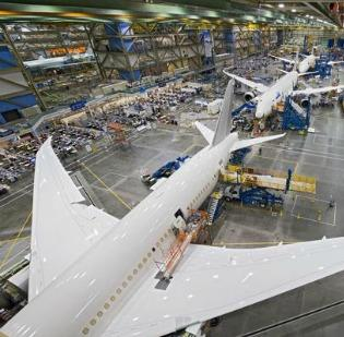 The Boeing Co. announced late Friday that it will lay off about 800 commercial jet workers this year at its factories in Seattle.