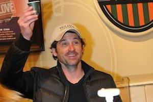 Celebrity Patrick Dempsey is suing his Tully's Coffee business partner.