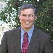 Democratic gubernatorial candidate Jay Inslee