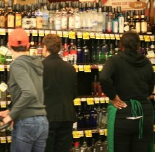 Consumer sales of liquor are up in Washington state following privatization.