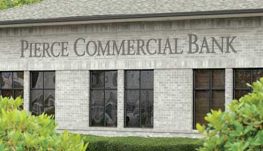 Pierce Commercial Bank of Tacoma closed in 2010.