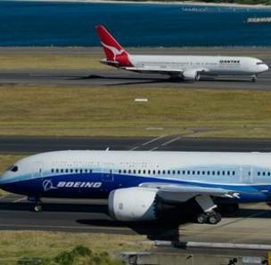 Australian airline Qantas has cut back its order for Boeing's 787 Dreamliner.
