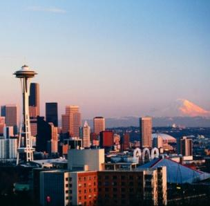 Seattle is the 13th most expensive city in Canada and the U.S. for running a corporate headquarters, according to a new survey.