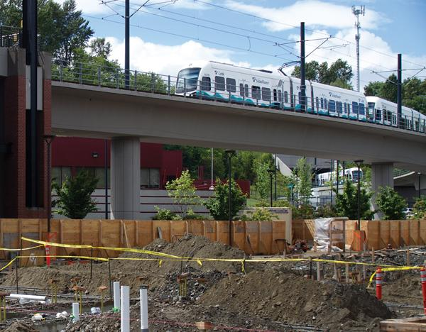 Since opening four years ago Thursday, Seattle's light rail line has carried more than 30 million riders, and is having record ridership this summer, system operator Sound Transit said.