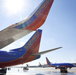 Southwest is RDU's top carrier in terms of passenger numbers.