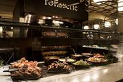Rotisserie is the food station closest to the entrance of Sodo Kitchen, a restaurant in Starbucks' headquarters building that's open to the public.