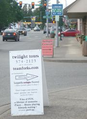 """Twilight"" tourism has become a significant industry in Forks."