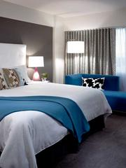 A King Bed Deluxe room.