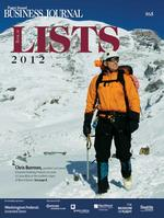 Climbing a mountain for the Book of Lists cover photo