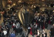 Guests at Puget Sound Business Journal's Book of Lists Extravaganza mingle in the Grand Gallery at the Museum of Flight on Thursday.