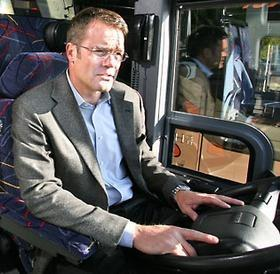 Now serving 18 years in prison for fraud and money laundering, former Mercer Island investment fund manager Frederick Darren Berg previously also ran a bus company called MTR Western.