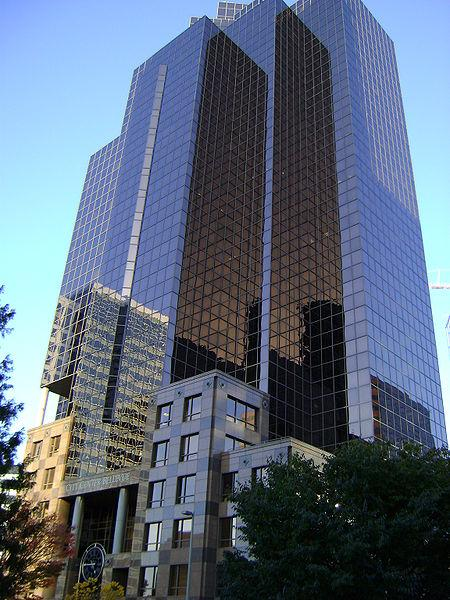 The City Center Bellevue building is under contract for sale to San Diego-based American Assets Trust.