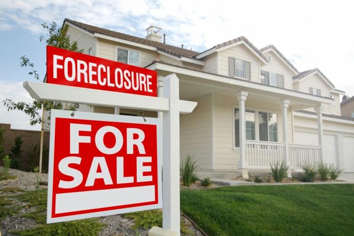 Foreclosures have fallen year over year, according to CoreLogic.