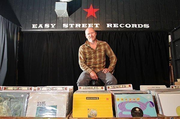 Easy Street Records founder Matt Vaughan