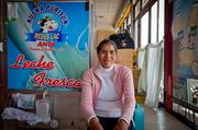 Albertina Calanchi is a 35-year-old dairy farmer in Peru who used loans and education through Seattle-based microfinance Global Partnerships to grow her dairy business.