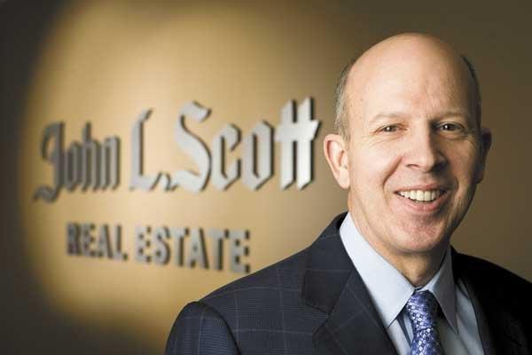 Lennox Scott, chairman and CEO of John L .Scott Real Estate